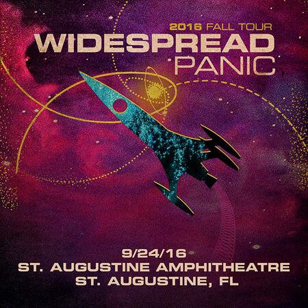 09/24/16 St. Augustine Amphitheatre, St. Augustine, FL