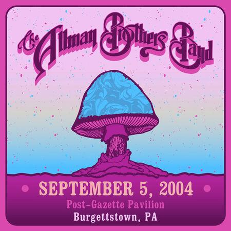 09/05/04 Post-Gazette Pavilion, Burgettstown, PA