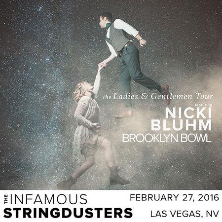 02/27/16 Brooklyn Bowl, Las Vegas, NV