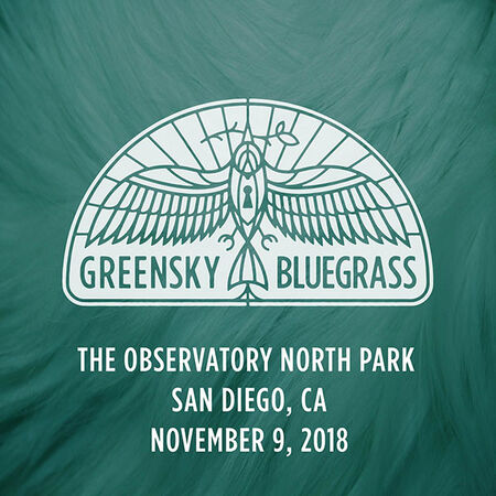 11/09/18 Observatory North Park, San Diego, CA