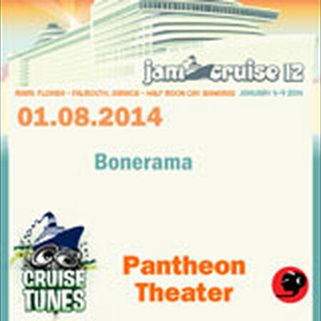 01/08/14 Pantheon Theater, Jam Cruise, US