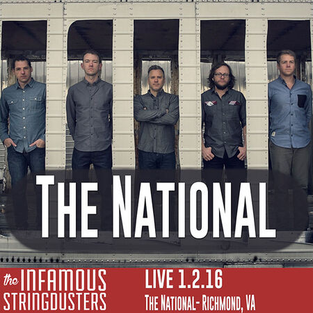 01/02/16 The National, Richmond, VA