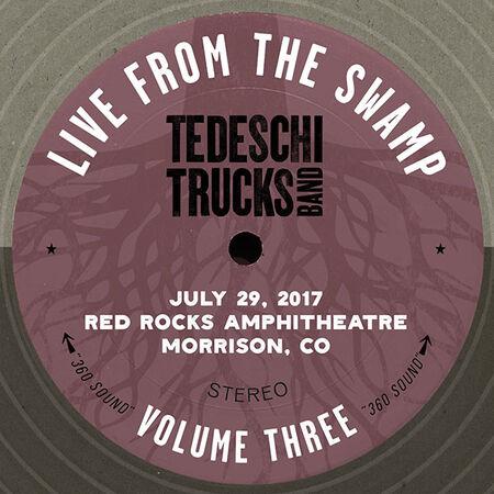 07/29/17 Red Rocks, Morrison, CO