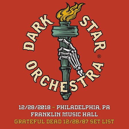 12/28/18 Franklin Music Hall, Philadelphia, PA