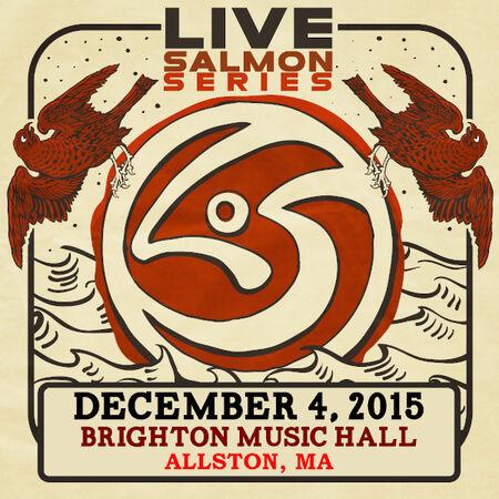 12/04/15 Brighton Music Hall, Allston, MA