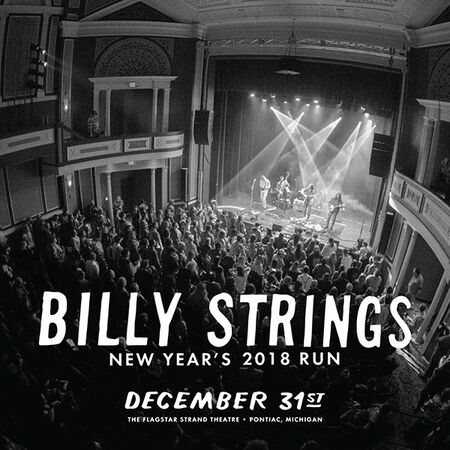 12/31/18 Flagstar Strand Theatre For The Arts , Pontiac, MI