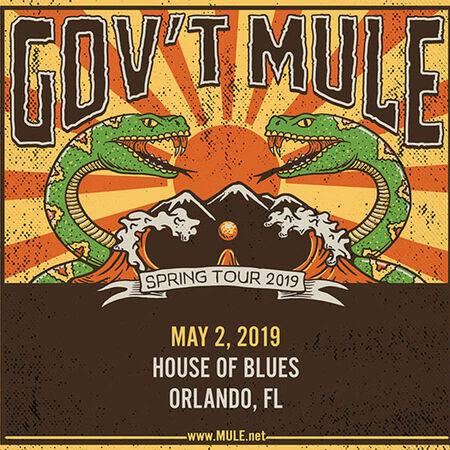 05/02/19 House of Blues, Orlando, FL