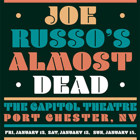 01/14/18 The Capitol Theatre, Port Chester, NY