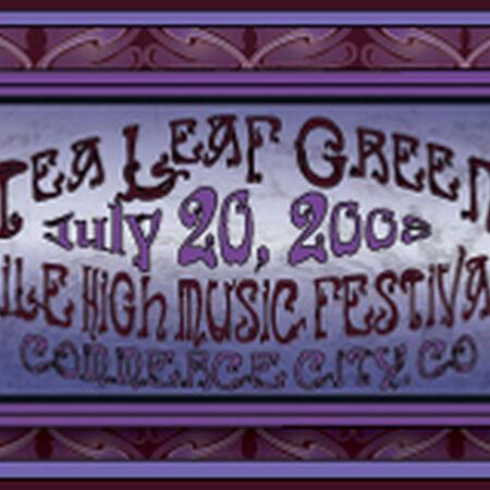 07/20/08 Mile High Music Festival, Denver, CO
