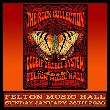 01/26/20 Felton Music Hall, Felton, CA