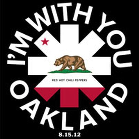 08/15/12 Oracle Arena, Oakland, CA