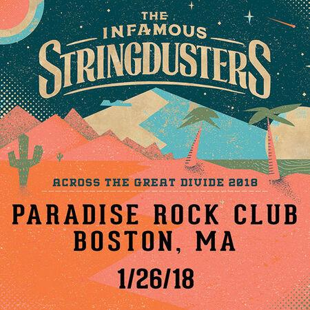 01/26/18 Paradise Rock Club, Boston, MA