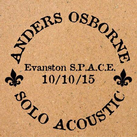 10/10/15 Space, Evanston, IL