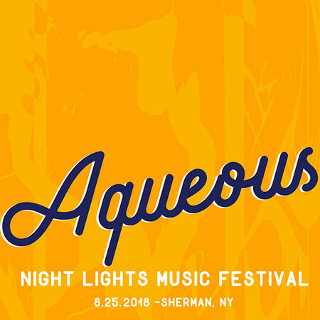 08/25/18 Night Lights Music Festival, Sherman, NY