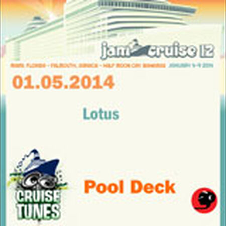 01/05/14 Pool Deck, Jam Cruise, US