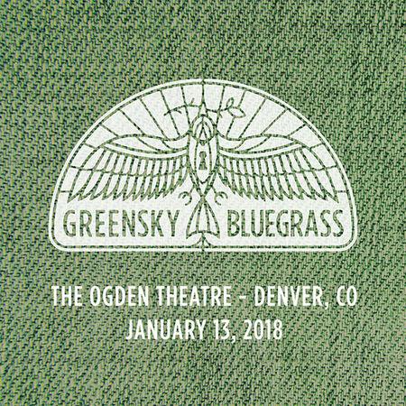 01/13/18 Ogden Theatre, Denver, CO
