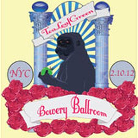 02/10/12 Bowery Ballroom, New York, NY