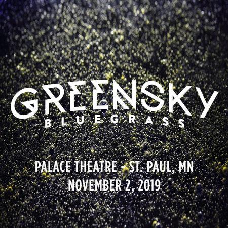 11/02/19 Palace Theatre, St. Paul, MN