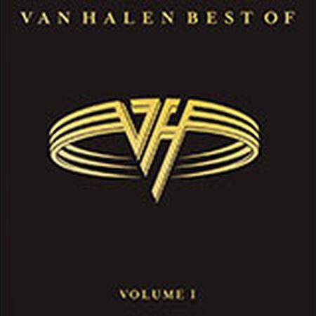 Van Halen Best Of Volume 1