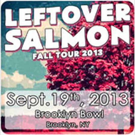 09/19/13 Brooklyn Bowl, Brooklyn, NY