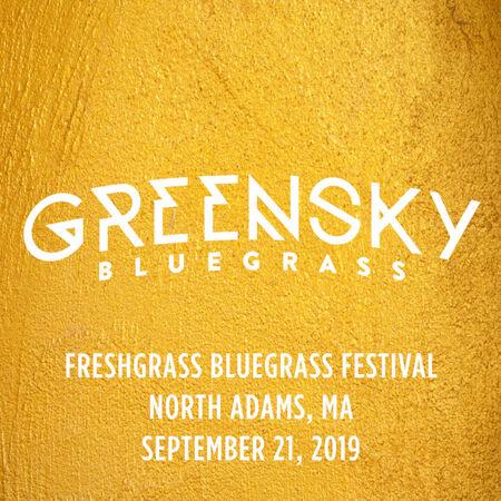 09/21/19 Freshgrass Bluegrass Festival, North Adams, MA
