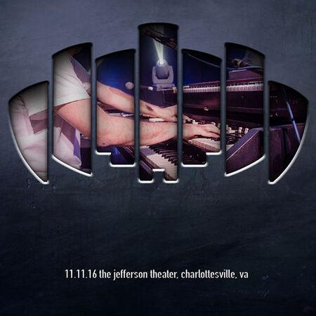 11/11/16 The Jefferson Theater, Charlottesville, VA