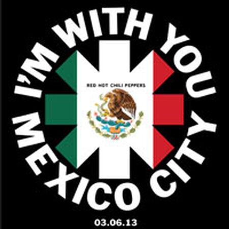 03/06/13 Palacio de los Deportes, Mexico City, MX