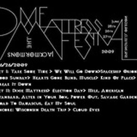 06/26/09 Dixie Mattress Festival, Springfield, OR