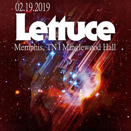 02/19/19 Minglewood Hall, Memphis, TN