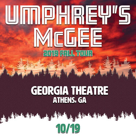 10/19/19 umVIP at Georgia Theater, Athens, GA