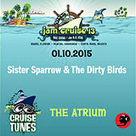 01/10/15 The Atrium, Jam Cruise, US