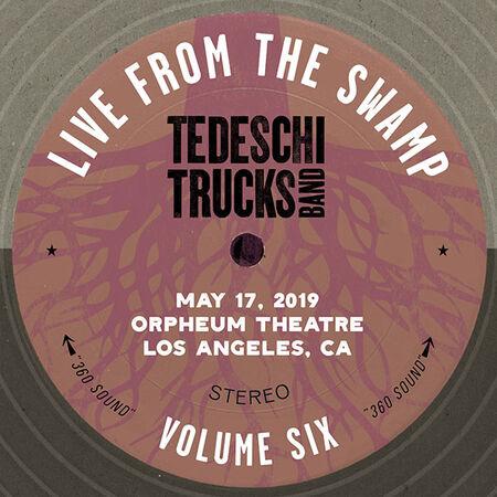 05/17/19 Orpheum Theatre, Los Angeles, CA