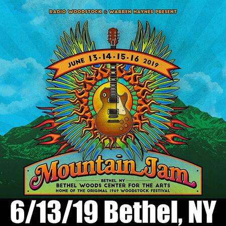 06/13/19 Mountain Jam, Bethel, NY