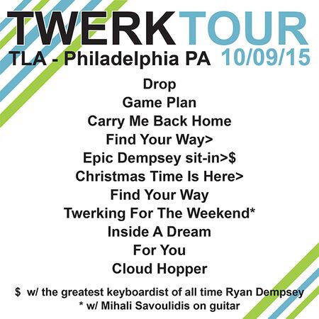 10/09/15 TLA, Philadelphia, PA