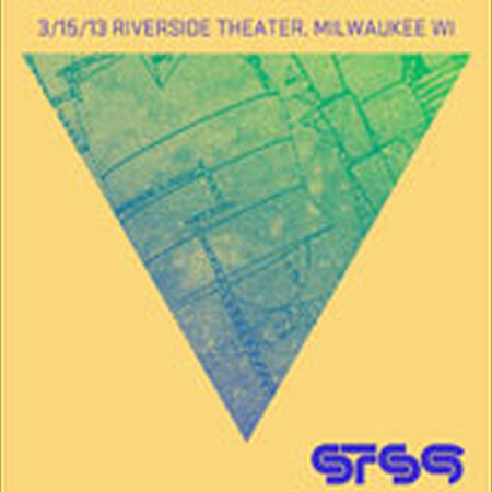 03/15/13 Riverside Theater, Milwaukee, WI