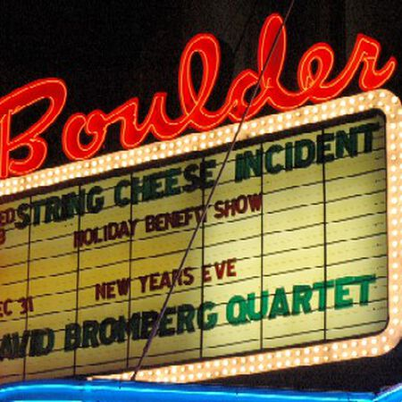 12/21/05 Boulder Theater, Boulder, CO