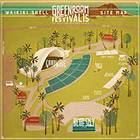 05/31/15 Green Room Festival, Honolulu, HI