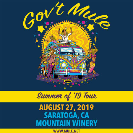 08/27/19 Mountain Winery, Saratoga, CA