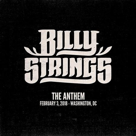 02/03/18 The Anthem, Washington, DC