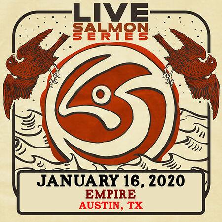 01/16/20 Empire Control Room, Austin, TX