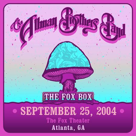 09/25/04 The Fox Theater, Atlanta, GA