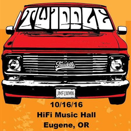 10/16/16 Hifi Music Hall, Eugene, OR
