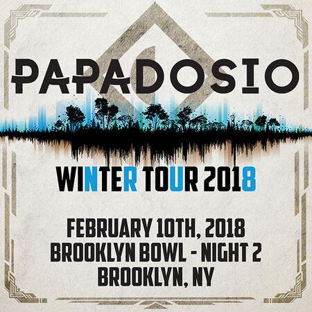 02/10/18 Brooklyn Bowl, Brooklyn, NY