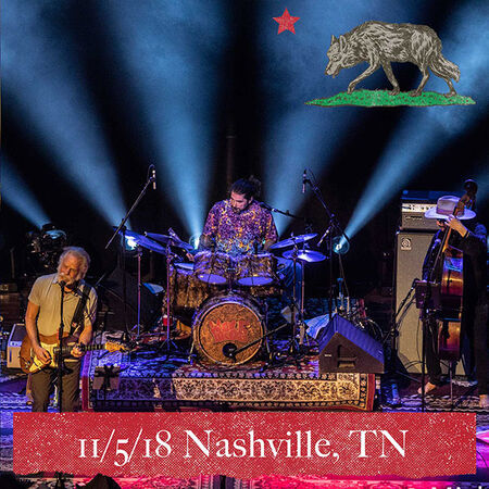 11/05/18 Ryman Auditorium, Nashville, TN