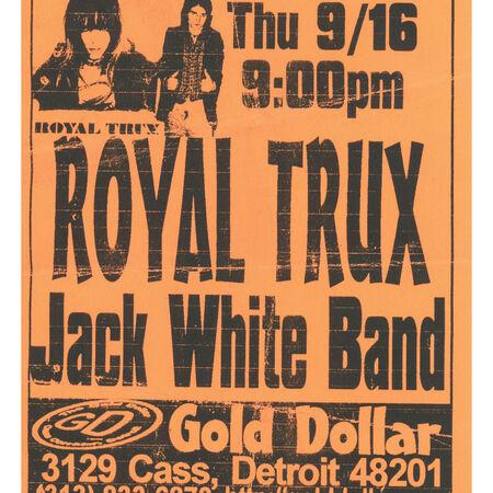 09/16/99 The Gold Dollar, Detroit, MI