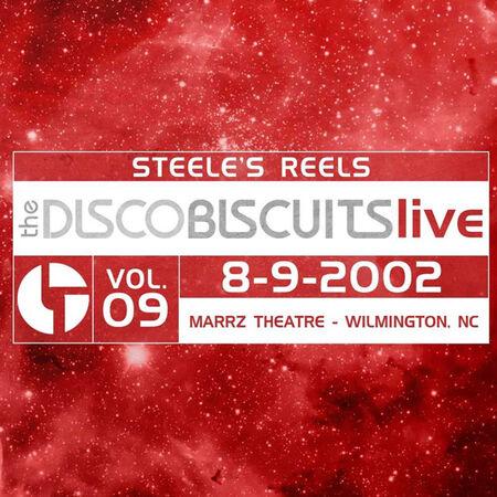 08/09/02 Marrz Theatre, Wilmington, NC