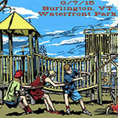 08/07/15 Waterfront Park, Burlington, VT