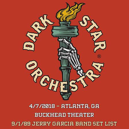 04/07/18 Buckhead Theater, Atlanta, GA