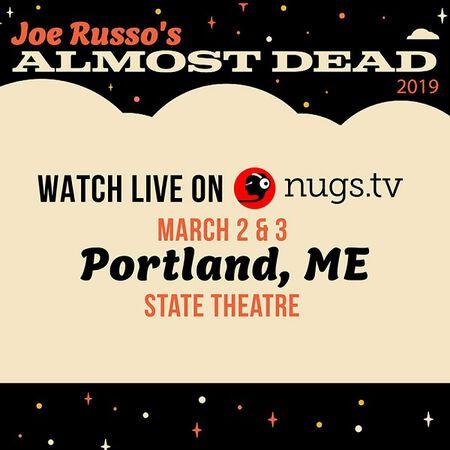 03/03/19 State Theatre, Portland, ME