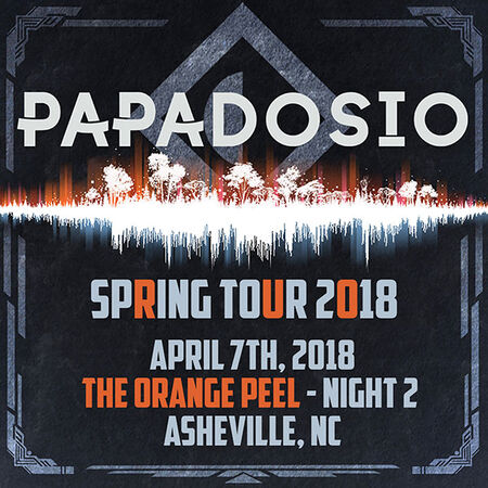 04/07/18 The Orange Peel, Asheville, NC